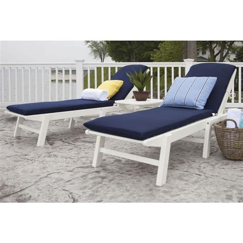 chaise navy home decorators collection naples all weather wicker