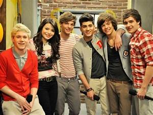 Zayn Malik of One Direction Gets Strangled in New 'iCarly ...