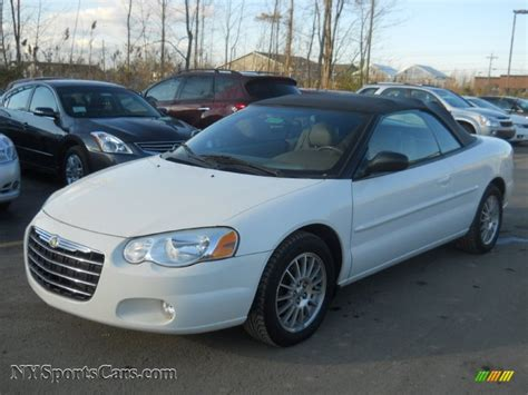 Chrysler Sebring Lxi by 2004 Chrysler Sebring Lxi Convertible In White