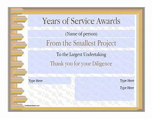50 amazing award certificate templates template lab With years of service award template
