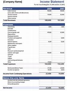 5 free income statement examples and templates for Multi step income statement excel template