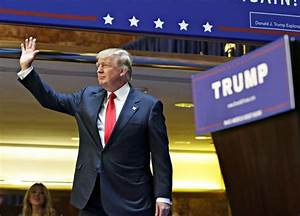 It's Official: Donald Trump Files Election Papers