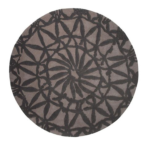 tapis rond taupe esprit home oriental lounge