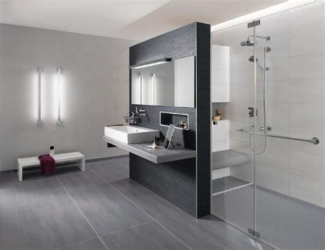 Bodenfliesen Wohnzimmer Modern Grau  Bad Ok