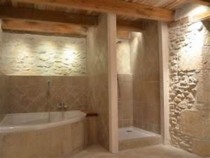 Petite Salle De Bain Avec Douche Italienne : salle de bain baignoire dangle et douche ~ Carolinahurricanesstore.com Idées de Décoration