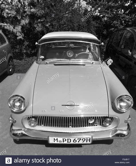 Opel History Black And White Stock Photos & Images