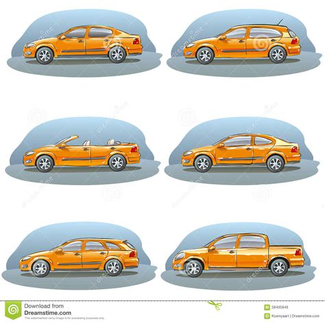 Body Car Vector Illustration