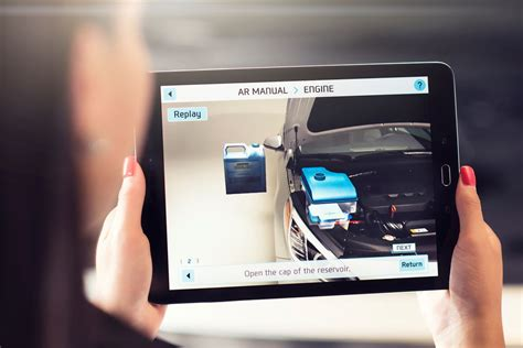 hyundai  launching augmented reality owners manuals