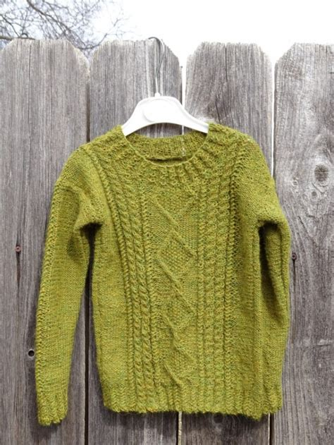 hand knitted sweater   alpaca wool unisex size