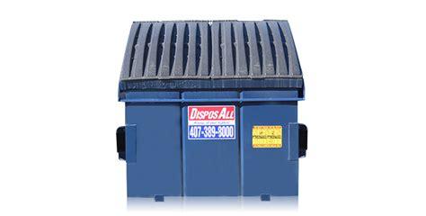yard dumpster rental