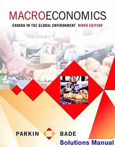 Canada In The Global Environment 9th Edition Solution Manual