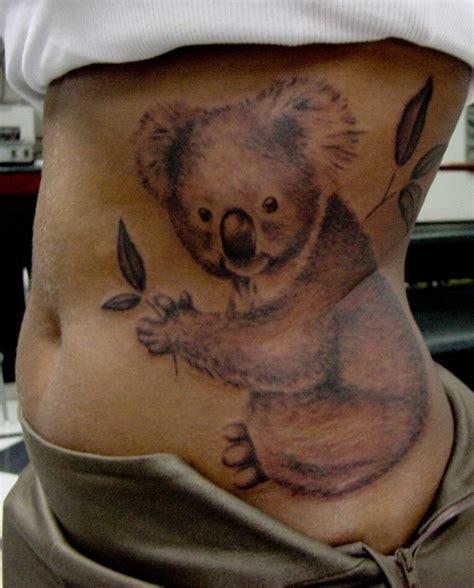 tatuaggi koala significati  simbologia  foto