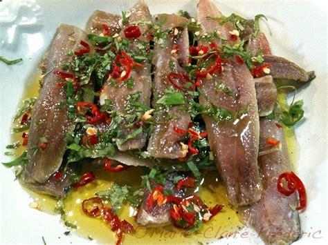sardines marinees au basilic  au piment ni cru ni cuit