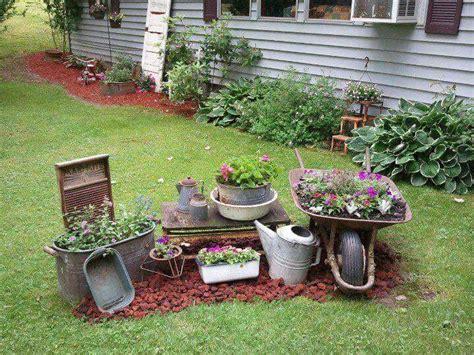 primitive garden ideas images  pinterest