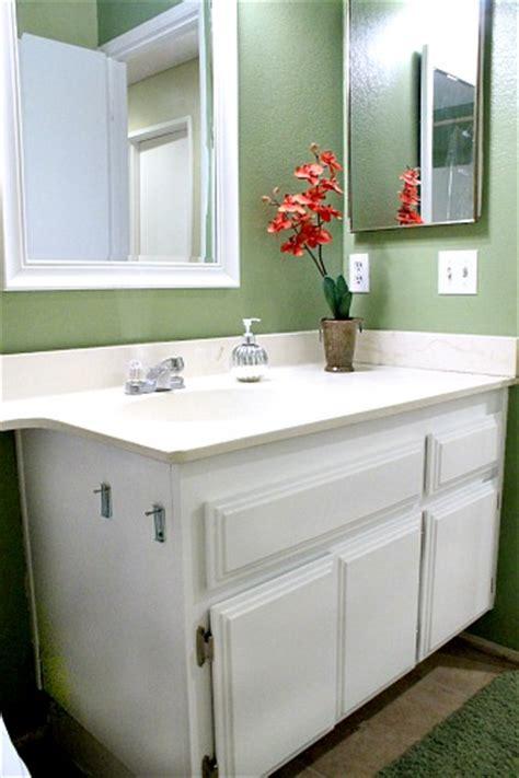 repainting bathroom cabinets quick  easy hometalk