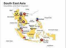 Editable PowerPoint Map South East Asia Map Editable
