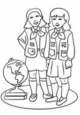 Scout Coloring Brownie Pages Scouts Brownies Printable Sheets Colouring Crafts Activities Supercoloring Boy Daisy Drawing Cartoons Af Categories Getting Many sketch template