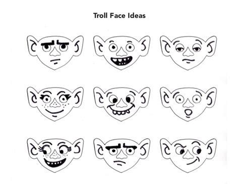 trolls nose templates trolls templates