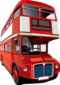 London Double-Decker Bus Cartoon