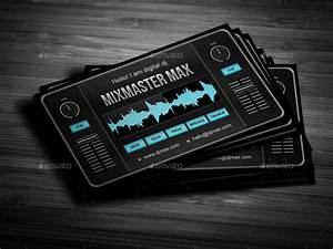 Digital dj business card by vinyljunkie graphicriver for Deejay business cards
