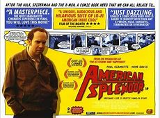 Comic Book Movies 101 American Splendor Filmwerk