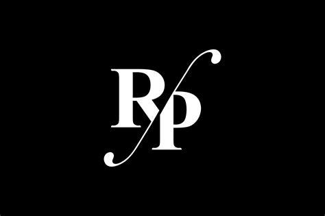 rp monogram logo design  vectorseller thehungryjpegcom