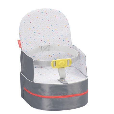 rehausseur de chaise nomade réhausseur de chaise nomade gris de badabulle sur allobébé