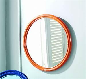 Miroir Rond Salle De Bain : miroir rond en rotin brin d 39 ouest ~ Nature-et-papiers.com Idées de Décoration
