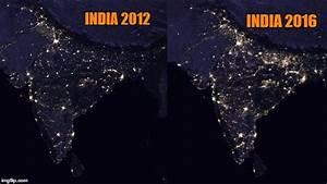 India 2012 v/s India 2016: These pics from NASA shows Modi ...
