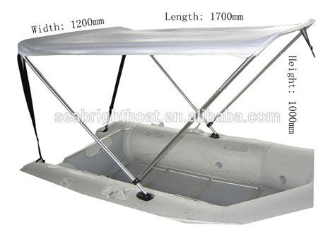 How To Build A Boat Bimini Top by 2 Bow Sun Canopy Bimini Top For Rib Boats And Kayaks Buy