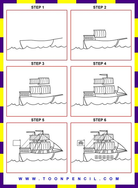 How To Draw A Boat Car by 32 Best Images About How To Draw Ships On The