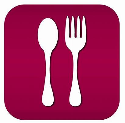 Icon Restaurant Menu Icons Vector Symbols Transparent