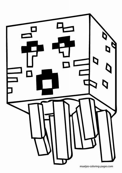 Minecraft Coloring Skins Pages Popular