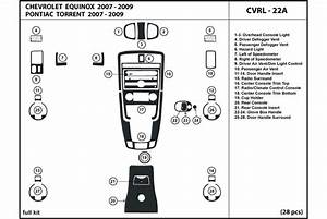 2009 Chevrolet Equinox Dash Kits