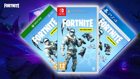 fortnite deep freeze bundle   announced