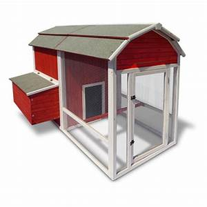 Precision petr products old red barn chicken coop 423892 for Red barn dog kennel