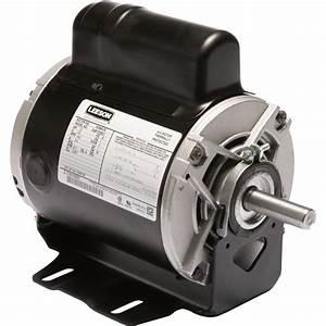 Leeson Instant Reversing Electric Motor  U2014 1  2 Hp  1625 Rpm