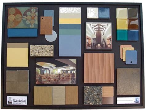 About the work of Interior designers – Colours & Materials