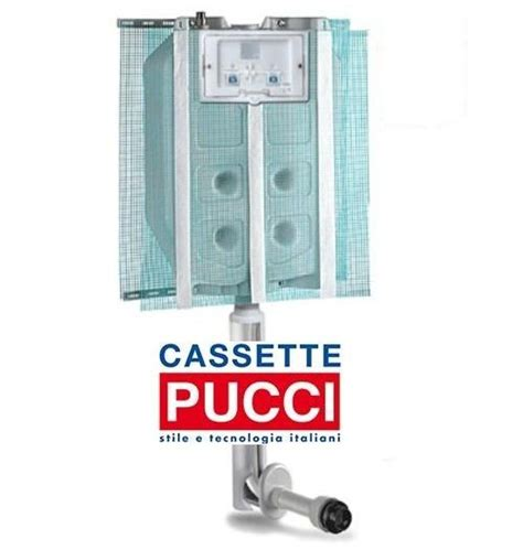 Cassette Incasso Pucci by Cassetta Wc Da Incasso Pucci Eco 2 Pulsanti 9 4 Litri