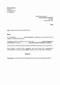 Documents Pour Compromis De Vente : lettre un notaire pour la r daction d 39 un contrat de vente terme mod le de lettre gratuit ~ Gottalentnigeria.com Avis de Voitures