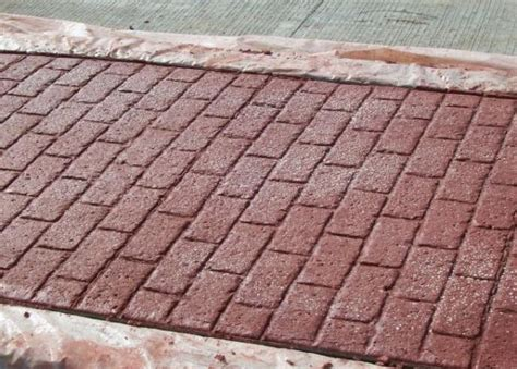 running brick pattern running bond used brick great plains concrete