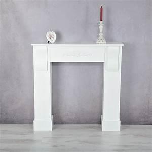Kaminumrandung Weiß Modern : deko kamin attrappe kaminkonsole kaminumbau kaminsims ~ Michelbontemps.com Haus und Dekorationen