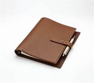 Carnet De Note Cuir : carnet de note organiseur en cuir fermeture clou ~ Melissatoandfro.com Idées de Décoration