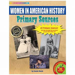 Primary sources women in american history for Primary documents in american history
