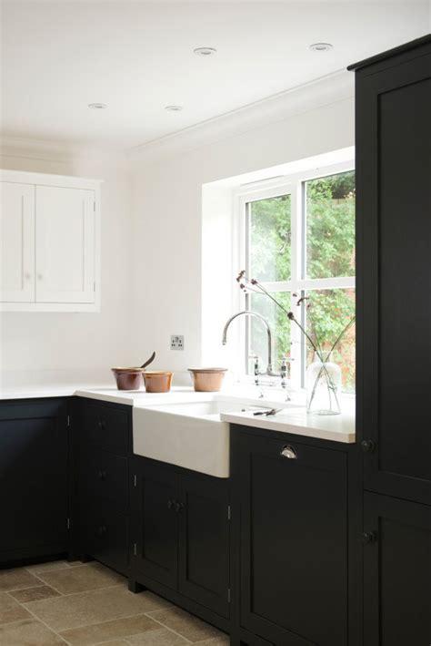 wooden kitchen cabinets crisp blue and white shaker kitchen the devol journal 1165