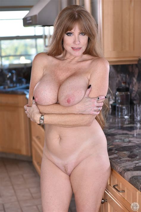 hot milf is busy in the kitchen milf fox