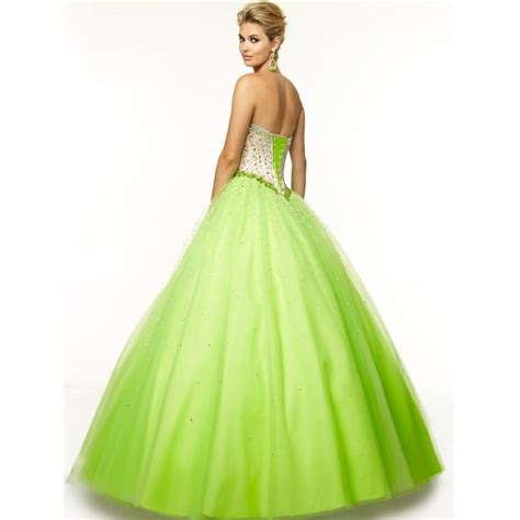 white  lime green wedding dresses wedding  bridal