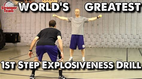 worlds greatest st step explosiveness drill