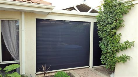 electric outdoor blinds perth motorised outdoor blinds