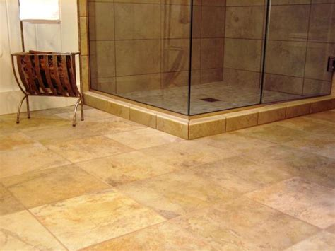 floor tile bathroom ideas 8 flooring ideas for bathrooms